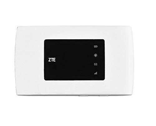 Router Hotspot ZTE MF920 4G LTE 1800 / 2300 MHz 3g 900 / 2100 MHz desbloqueado GSM hasta usuarios WiFi (no EE. UU./sólo para Europa, Asia, Oriente Medio, África, algunos Sudamérica) (Blanco)