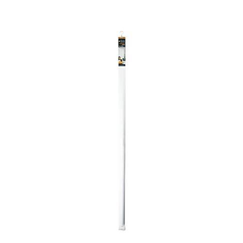 Estor Enrollable japonés 120 x 180 cm poliéster Batik Blanco