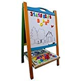 Double Sided Wooden Art Easel. Standing...