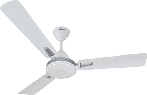 OCECO Smart E1 Energy Saving bldc Fans Ceiling 1200MM with Remote Control and BLDC Motor (Wattage:32W, Color:White)