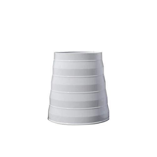 Reductor universal para sistemas de ventilación 80/200 mm de diámetro, reductor de PVC, tubo redondo de ventilación, utilizado con sistema HVAC para conductos y ventiladores extractores (15-18 cm)