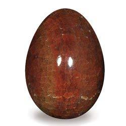 Fuego ágata crystal huevo