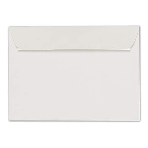 ARTOZ 25x Briefumschläge DIN C5 Creme (Ivory-Elfenbein) - 229 x 162 mm Kuvert ohne Fenster - Umschläge selbstklebend haftklebend - Serie Artoz 1001