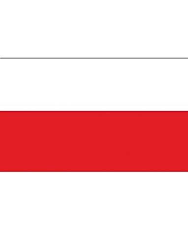 """TrendClub100® Fahne Flagge """"Polen Poland PL"""" - 150x90 cm / 90x150cm"""