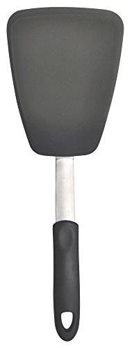 Unicook Flexible Silicone Spatula, 600°F Heat Resistant Turner, Essential Kitchen Cooking Utensil, Ideal for Flipping Eggs, Burgers, Crepes and More, Large