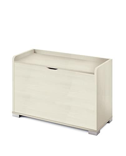Muebles Pitarch Makalu Baúl, Aglomerado de partículas y melamina de Alta Densidad, Pino, 60 x 90 x 40 cm