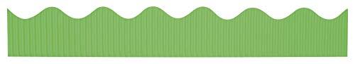 """Bordette Scalloped Decorative Border P37124, 2-1/4"""" x 50', Nile Green, 1 Roll"""
