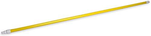 Carlisle rosca espectro mango de fibra de vidrio de 60pulgadas con flex-tip autoblocante 1pulgada de diámetro
