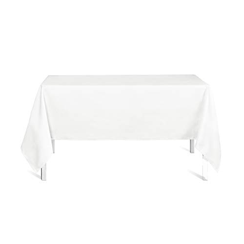 Today 256413 Nappe Polyester Chantilly/Blanc 150 x 250 cm