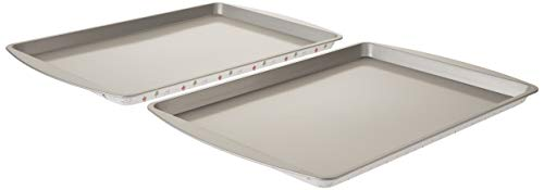 Wilton Christmas Printed Non Stick Large Cookie Sheets - 2 pack