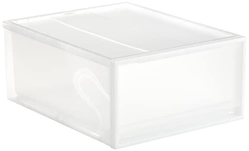 無印良品 ポリプロピレンクローゼットケース・引出式・大 約幅44×奥行55×高さ24cm 15199709