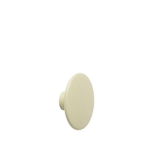 Muuto - Garderobenhaken - The Dots - Esche - beige-grün - D 13 cm