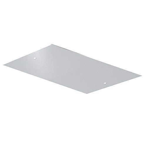 CalorSolar CERATI TechoBlancoA6030-SA Calefactor de Panel Infrarrojo en Aluminio para Techo, 59X29 cm, color Blanco