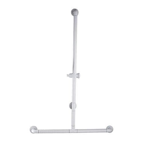 Jiahe115 veiligheidsrails voor badkamer, badkamer, T-handgreep, douche-type, antislip, stabiel, van roestvrij staal, slangen in 2 kleuren