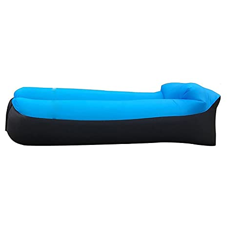 YFAX Sofá Hinchable, Tumbona Inflable portátil a Prueba de Agua, sofá Inflable antifugas de Aire, sofá de Aire Cojín para Exteriores para Playa, Camping, Fiesta.