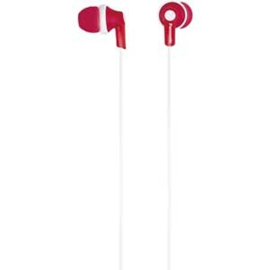 最も課す包帯パナソニック カナル型イヤホン iPod/iPhone/iPad専用 レッド RP-HJC17-R