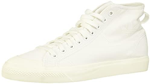 Adidas Nizza Hi, Zapatillas de Deporte Hombre, Blanco (Ftwbla/Ftwbla/Casbla 000), 44 2/3...