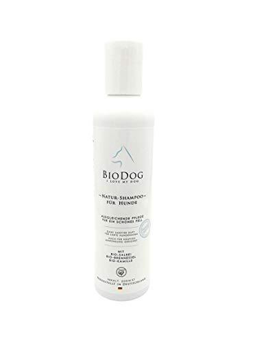 BIODOG I LOVE MY DOG Bio-Hundeshampoo 200ml-echte Naturkosmetik-mild und pflegend - Bio-Kräuter pur- simpel und gut-sanfter Geruch