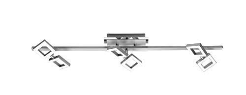 Paul Neuhaus Deckenleuchte, 6 x LED-Board / 2,50 W / 3000 K, Innenleuchte, IP20, stahl 6488-55