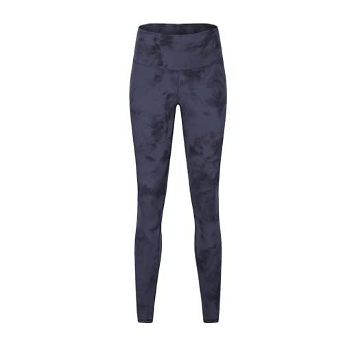 QTJY Pantalones de Yoga Suaves de Cintura Alta, Pantalones de chándal de Gimnasio para Mujeres, Pantalones de Fitness Protectores en Cuclillas, Pantalones de Yoga de Secado rápido elásticos A XL