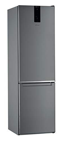 Whirlpool - Frigorífico combi W9 921D OX inox, sistema no frost full, tecnologìa inteligencia 6th sense, 201.1 x 59.5 x 65.5 cm, eficiencia NEL E
