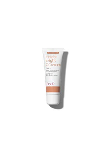 Face D | CC Cream, Crema Corretrice del Colore con Acido Ialuronico e SPF 20, Light, 40 ml