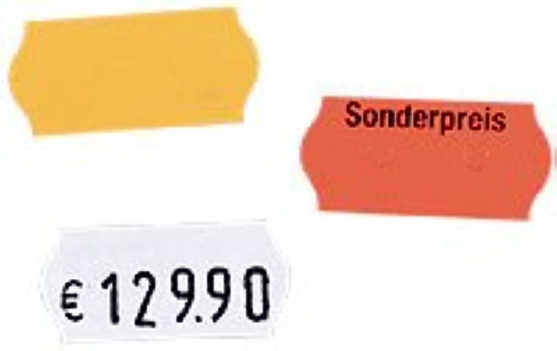 Etiketten für versch. Auszeichner, rot, m. Sonderpreis,12 Rollen B003QY1S0I  | Verkauf