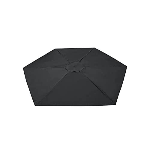 JSSEVN Cubierta de repuesto para sombrilla, 2 m, para jardín, toldo de jardín, toldo para terraza, parasol de mesa, toldo de repuesto