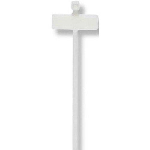 Cimco - Cinta para sujetar cables (2,5 x 200/25 x 8 mm,...
