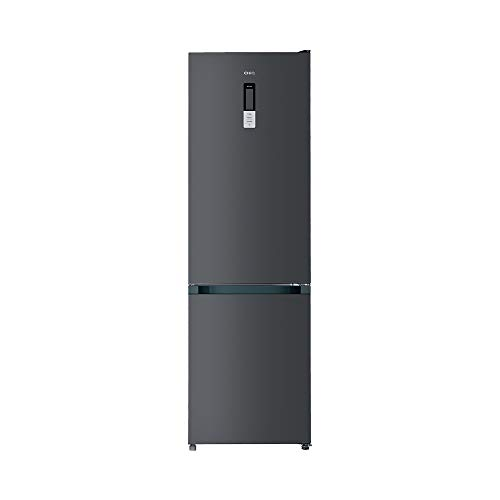 CHiQ FBM351NEI42 Freistehender Kühlschrank mit Gefrierfach 351L | Kühl-Gefrierkombination No frost mit Inverter Technologie| 200 x 59,5 x 64,2 cm (HxBxT) | 39 db | 12 Jahre Garantie auf den Kompressor