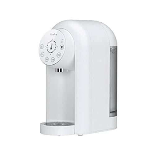 Dispensador de agua caliente instantánea de bolsillo Mini dispensador de agua con temperatura ajustable y volumen de agua Diseño silencioso: hervir el agua en solo 3 segundos (Color : White)
