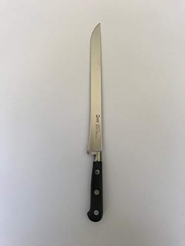 IVO Cuchillo jamonero forjado hoja de punta 25 cm de acero X50 CR Mo V15