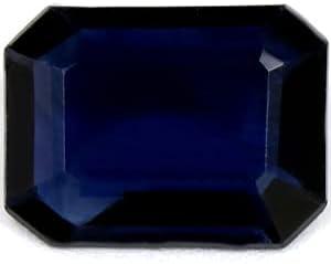quality assurance GemsNY 1.31 Carat Natural Blue Cut Sapphire Emerald [Alternative dealer]