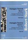 DIE HOEHERE ARPEGGIO TECHNIK 1 OP 52 - arrangiert für Klarinette [Noten / Sheetmusic] Komponist: STARK ROBERT