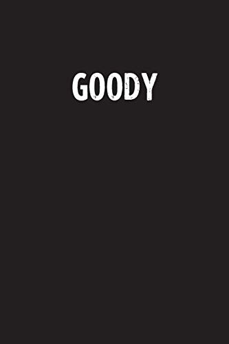 Goody: Simple Blank Lined Notebook Journal