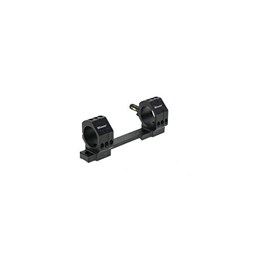 Wheeler 1-Piece Bolt Action Mount - 30mm High Scope Mount for Savage 110 Long Action Rifles - 6-Hole Design with Integral Rings & Anti-Cant Indicator for Leveling, Shooting & Gunsmithing