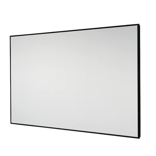 celexon Home-Cinema Rahmen-Leinwand Dynamic Slate ALR, Rahmenleinwand mit idealer Tuchlage, Hoch-Kontrast-Leinwand - 220 x 124cm - 16:9 - Gain 0,8