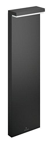 Philips 1648693P0 BUSTAN Potelet Aluminium/Matières synthétiques Gris 22 x 9 x 77 cm