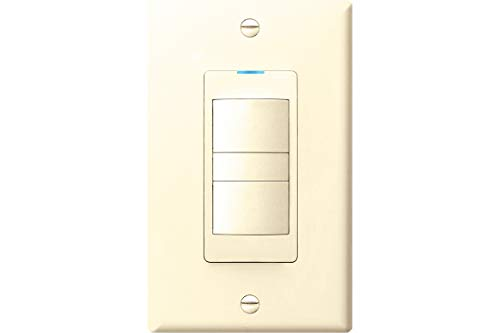 Panasonic FV-WCD02-A WhisperControl Switch for Fan/Light Control, Preset Countdown, Hourly Timer