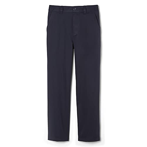French Toast Boys' Little Pull-On Relaxed Fit School Uniform Pant (Standard & Husky), Navy, 6