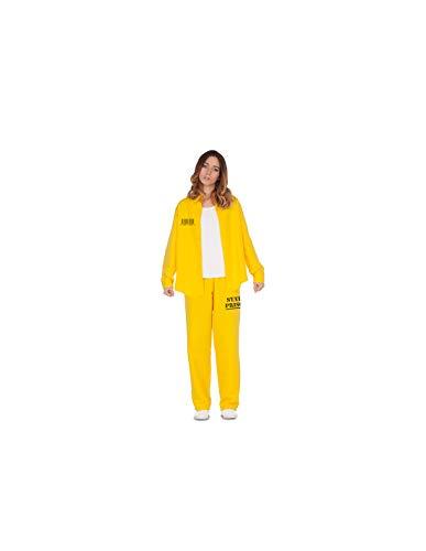 DISBACANAL Disfraz de Presa Amarilla Mujer - -, M-L