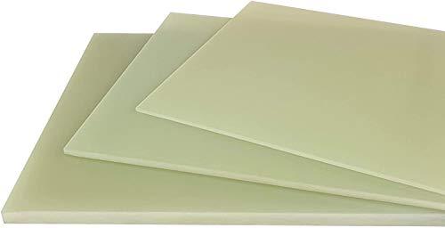2,0 mm GFK Platte grün FR4 Tafelformat ca. 520 x 260 mm Glashartgewebe