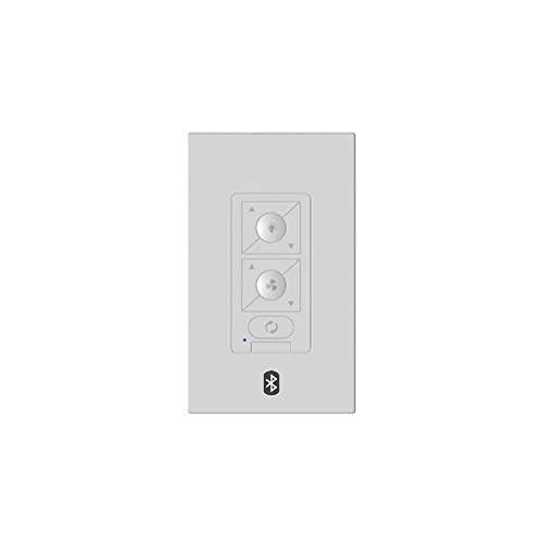 Modern Forms F-WCBT-WT Smart Fans Wall Control, White
