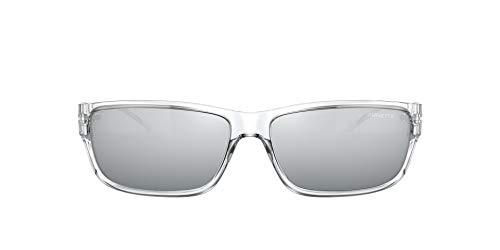Arnette 0AN4271 Gafas, Cristal Transparente/Gris Claro Espejo Negro, 63 para Hombre