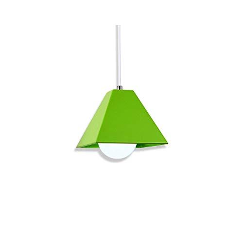 GYC - Lindos Kits de iluminación de Metal de Color Fresco con luz Colgante sin Bombilla para Restaurante, Sala de Estar, Alta Costura, decoración de cafetería, lámp