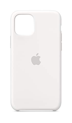 Apple Funda Silicone Case (para el iPhone 11 Pro) - en Blanco