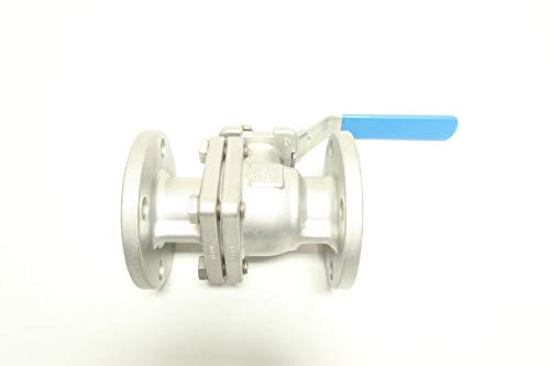 CF FLUID CONTROLS FZ15FR Manual Stainless FLANGED Ball Valve 1-1/2IN 150