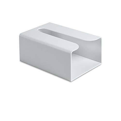 IUYJVR Toilet Paper Holder Creative Tissue Box Napkin Holder Paper Towel Storage Rack Tissue Canister Kitchen Organizer Tools Home Supply (Color : Grey)