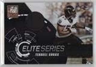 Terrell Suggs #23/50 (Football Card) 2010 Donruss Elite Elite Series Black Jerseys Prime [Memorabilia] #23