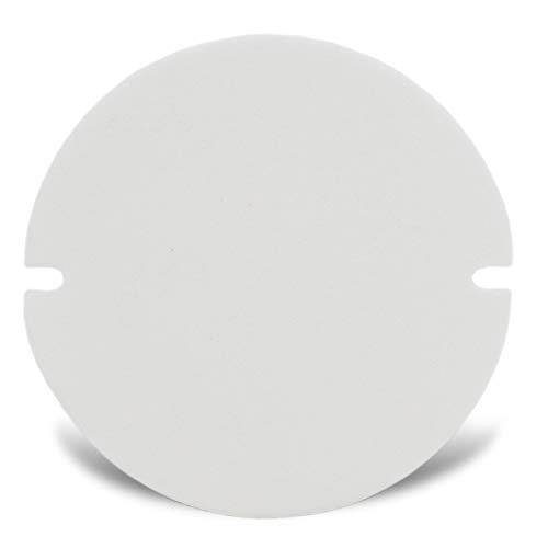 LANZZAS Dichtung für Ofenrohre mit Reinigungsklappe - passend für Rohre mit Ø 100 mm - 140 mm - Hitzebeständig bis 1200° C - zuschneidbar - aus Calcium-Magnesium-Silikatfasern